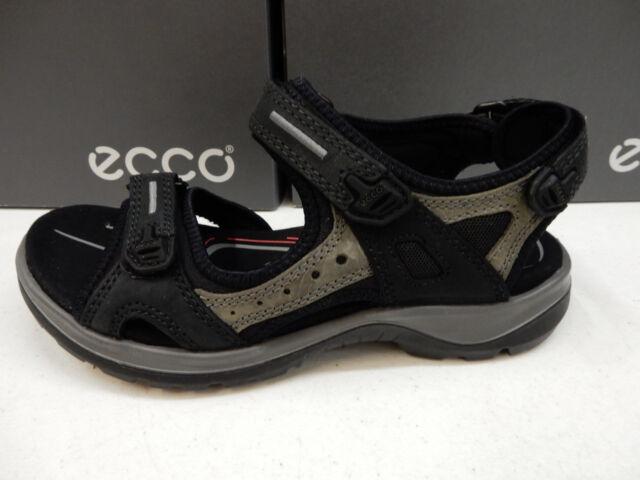 ECCO Women's Offroad Athletic Sandals Black 7 UK 40 EU