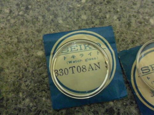 Seiko 7625-9030 Crystal Genuine Seiko Nos  330T08ANS