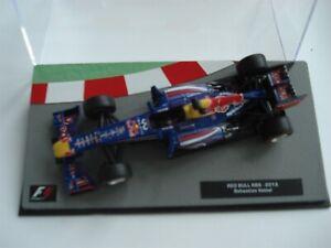 Copieux Red Bull Rb9-seb Vettel - 2013-f1 Collection-comprend Magazine - 1/43-afficher Le Titre D'origine