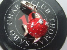 New genuine Thomas Sabo red blow fish or puffer fish charm RRP £55
