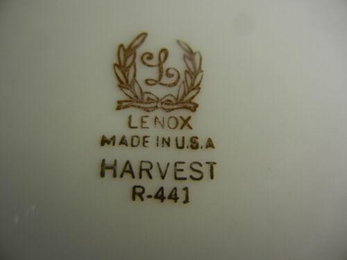Lenox Harvest R441 Dinner Plate s