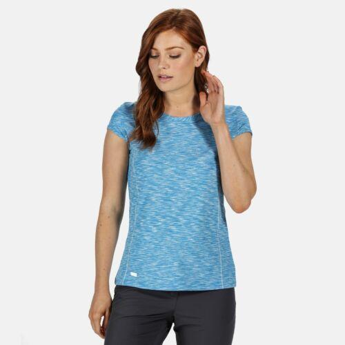 Regatta Women/'s Hyperdimension Quick Dry T-Shirt Blue