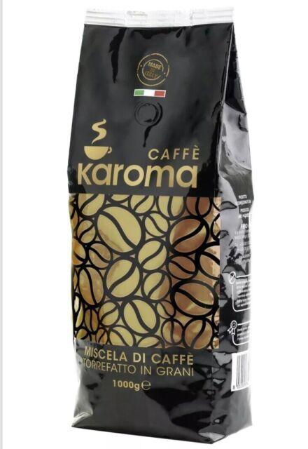 Coffee Beans Online >> Italian Espresso Beans Coffee Whole Bean Karoma Premium 2 2lb Bags 1kg