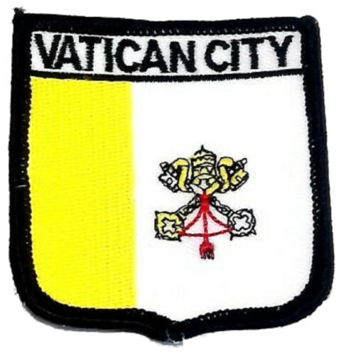 Vatican City Embroidered Patch