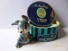 WADE WHIMSIE DISNEY HATBOX THUMPER WITH ORIGINAL BOX