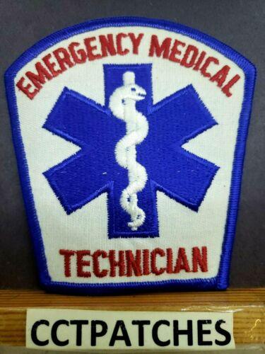 EMERGENCY MEDICAL TECHNICIAN EMS EMT PATCH