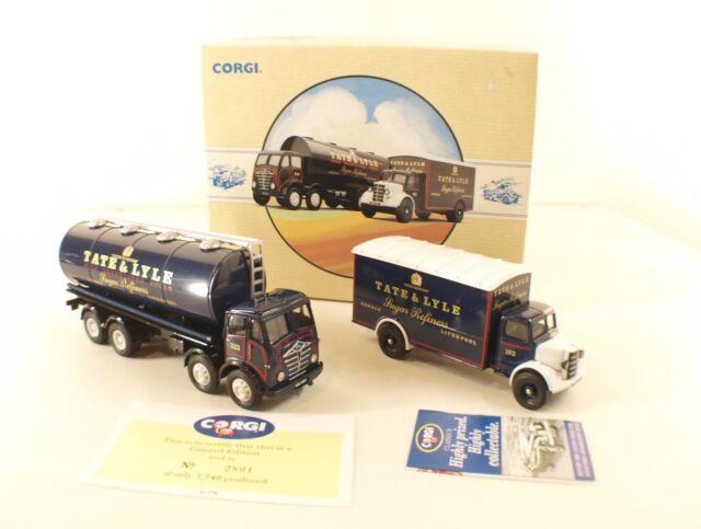 Corgi 97781 camion Foden Tanker Bedford O series truck TATE & LYLE MIB neuf