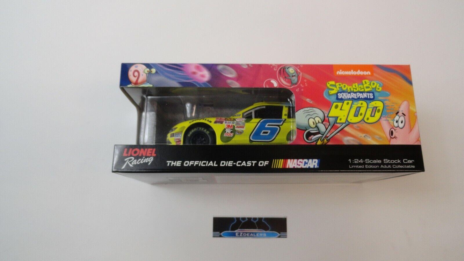 sport caldi Darrell Wtuttiace JR  6 2015 SpongeBob Mustang 1 24 24 24 azione Racing Diecast NASauto  sconto online di vendita