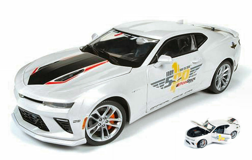 Chevy Camaro Indy Pace Car 2017 40th Anniversary 1:18 Model AW236 AUTO WORLD