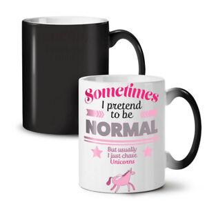Unicorn Cool Joke Funny NEW Colour Changing Tea Coffee Mug 11 oz | Wellcoda