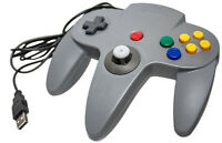 Nintendo N64 Usb Controller For Pc / Mac - Gray