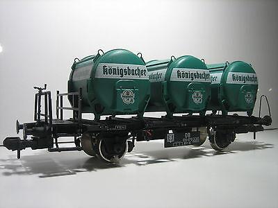 Cerca Voli Märklin 58321 Traccia 1 Koenigsbacher Carro Serbatoio Vagone Merci Condizione