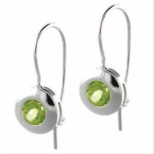 925-Silver-Peridot-Round-Dangle-Earrings