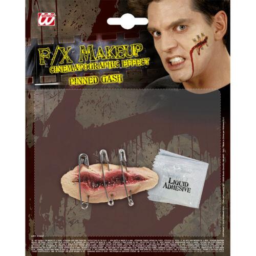FX HALLOWEEN PROFI EFFEKTE Rißwunde Riß Wunden Horror Grusel Kostüm Zubehör 4160
