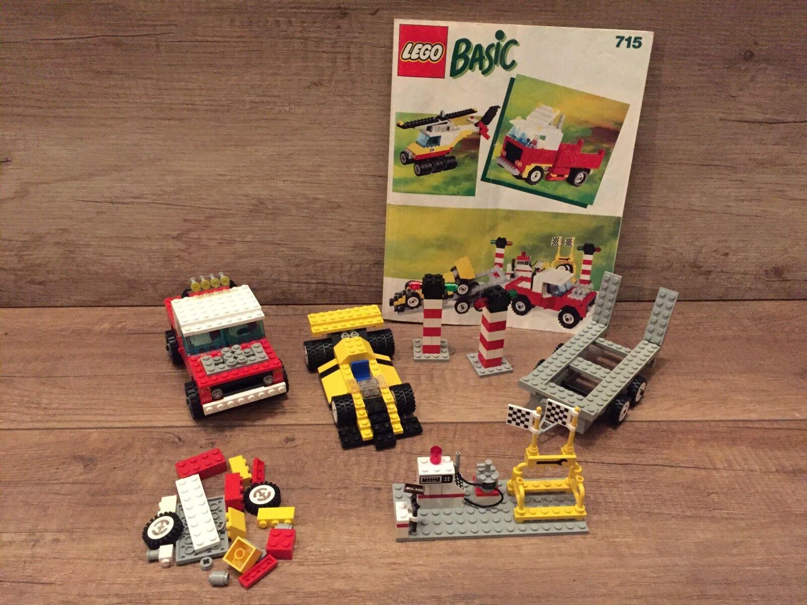 Lego 715 Building Set Rennwagen Auto City Stadt Town mit BA