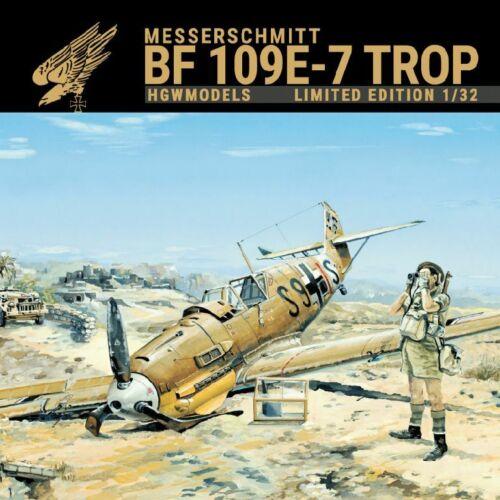 HGW Models Messerschmitt BF 109E-7 Trop Limited Edition  1:32