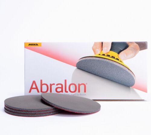 Mirka Abralon Schleifscheibe 150mm Korn 4000 mit Klett für Excenter MI8A24102097