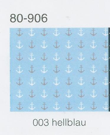 150 cm br meterw, € 8,00//qm baumw m elastano Hochw Jersey tela anclajes Bleu