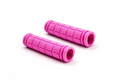 Ø 23 mm pour vélo pour enfants Longueur 115 mm 2x Poignée Guidon Poignée rose