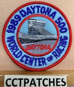 1989 Daytona 500 Monde Centre De De Course Patch Divers ModèLes RéCents