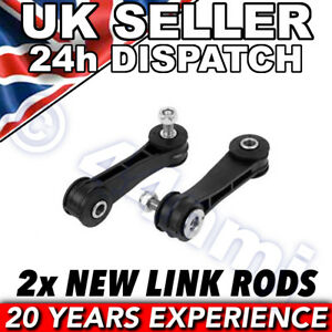 Skoda Octavia PLASTIC FRONT ROLL BAR DROP LINK RODS x 2