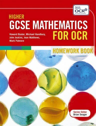1 of 1 - Higher GCSE Mathematics for OCR: Two Tier Homework Book (GCSE Mathematics for O