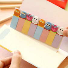 120Pages Cute Animal Sticker Post  Bookmark Marker Memo Index Tab Sticky Notes
