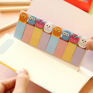 120Pages-Cute-Animal-Sticker-Post-Bookmark-Marker-Memo-Index-Tab-Sticky-Notes