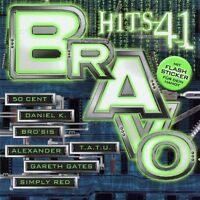 Bravo Hits 41 (2003) Daniel K., No Angels, T.a.t.u., 50 Cent, Aaliyah, .. [2 CD]