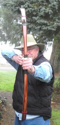 """Archery Horse Bow /""""Indian American Scout/"""" 51in 35-40+lb  @28 in Draw"""