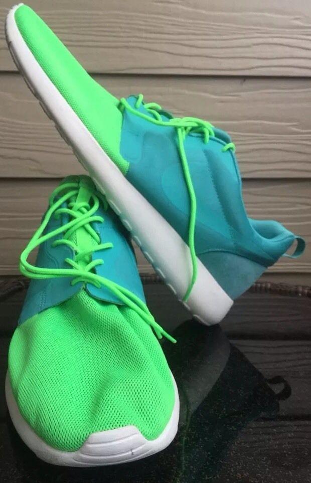Uomini qs scarpe nike 15 rosherun ipn qs Uomini 616325-331 maglie blu verde 00feac