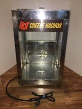 Server Products Hot Cheese Nachos Popcorn Warmer Commercial Glass Box Heater