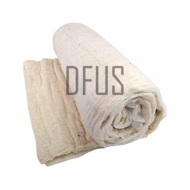 Cotton Upholstery Flock Felt Wadding Padding Filling 68cm Wide Various Lengths