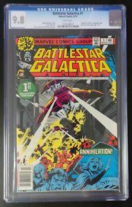 Battlestar-Galatica-1-Marvel-Comics-1979-CGC-9-8-White-Pages-TV-Adaptation