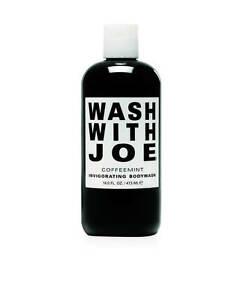 wash with joe kaffee minze belebendes veganes duschgel f r alle hauttypen ebay. Black Bedroom Furniture Sets. Home Design Ideas