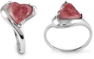 Sterling-Silver-Ring-Heart-Shape-Rhodonite-Stone-6639-RD-R