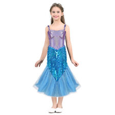 50b3ff7fd JerrisApparel Long Sleeve Little Girls Mermaid Costume Princess ...
