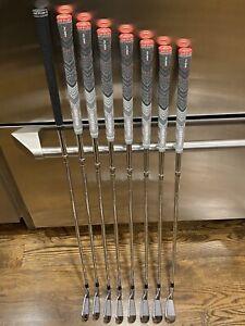 titleist 716 ap2 iron set 3-P Xstiff, Extra Stiff Dynamic Gold X100, Excellent