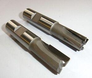 2 HM Fräser Schaft 16 mm Tauchfräser Schlichtfräser Neu *T5.1*