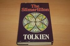 J R R TOLKIEN THE SILMARILLION FIRST EDITION 1ST PRINTING hardback book