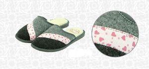 Señoras Zapatillas de Fieltro calentado * producto hecho a mano de la UE * Tamaño 3,4,5,6,7,8