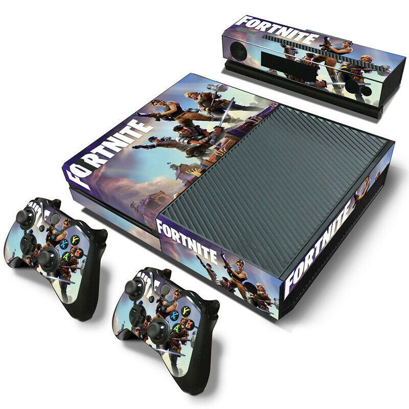Hot New XBOX ONE Skin Decal Stickers + 2 Controller Skins & Kinect VINYL 5175