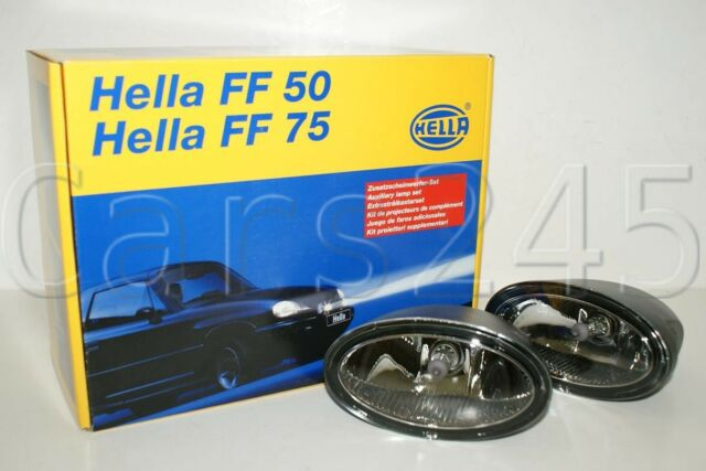 Hella Nebelscheinwerfer Set FF-50 12V H7 Zusatz Scheinwerfer Beleuchtung vorne