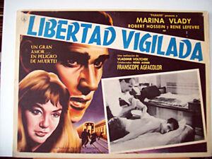 La-liberte-surveillee-MARINA-VLADY-1958-OPTIONAL-SET-MEXI