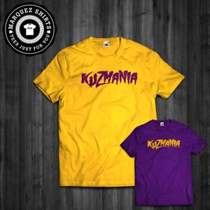 new style 82054 5ac47 T-Shirt Kuzmania Kyle Kuzma Lakers Basketball Tee   eBay