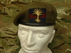 Quality-Welsh-Guards-Beret-Cloth-OR-S-Badge-Household-Division-Welsh-Guards