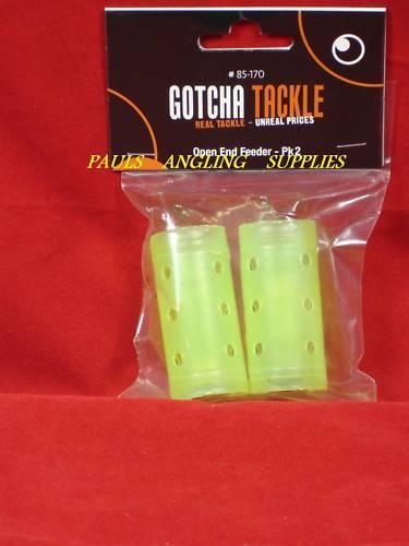 Gotcha Fishing 2 Pack Open End Large Swim feeders