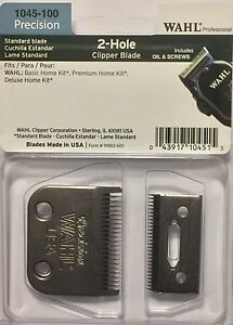 WAHL-PROFESSIONAL-2-HOLE-BLADE-1045-100-UPC-043917104515-PLUS-OIL-AND-SCREWS