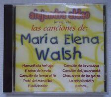 ALEJANDRA ALDAO LAS CANCIONES DE MARIA ELENA WALSH CD