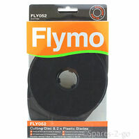 FLYMO Microlite Minimo Hover Vac Lawnmower Cutting Disc & Blades FLY052 Genuine